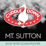 Mt. Sutton Down/Feather Forms by Cuddle Down