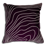 Merlot Cushion by Alamode Home