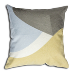 Grey Bergen Cushion by Alamode Home