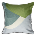 Green Bergen Cushion by Alamode Home