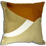 Orange Bergen Cushion by Alamode Home
