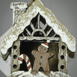 Gingerbread Birdhouse Ornament