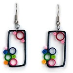 Out of the Box Brights Quilling Earrings