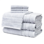 Light Grey Egyptian Cotton Towels by Daniadown