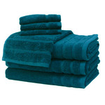 Teal Egyptian Cotton Towels by Daniadown