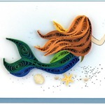 Mermaid Quilling Gift Card
