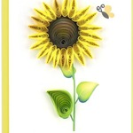 Sunflower Quilling Gift Card