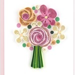 Flower Bouquet Quilling Gift Card