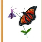 Monarch Butterfly Quilling Gift Card