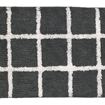 Grey Hopscotch Rug by Moda