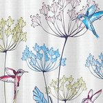 Hummingbird Shower Curtain by Interdesign