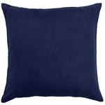 Navy Javier Crochet Cushion by Alamode Home