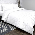 Jubilee White Bedding by Alamode Home
