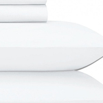 White Jubilee Upgraded Cotton Sheet Set