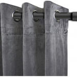 Grey Langtry Curtains by Alamode Home