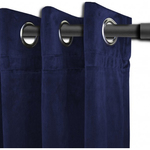 Navy Langtry Curtains by Alamode Home