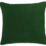 Langtry Forest Green Cushion by Alamode Home