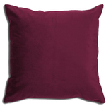 Langtry Merlot Red Cushion by Alamode Home