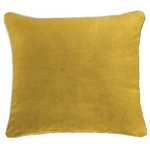 Langtry Mustard Yellow Cushion by Alamode Home