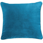 Langtry Peacock Blue Cushion by Alamode Home