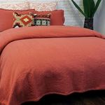 Orange Mallow Coverlet by Alamode Home