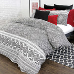 Medina Duvet Cover Set by Pillowcase by Alamode Home