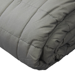 Charcoal Soft Touch Quilted Blankets by Century Home