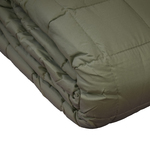 Taupe Soft Touch Quilted Blankets by Century Home