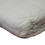White Soft Touch Quilted Blankets by Century Home