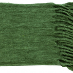 Forest Green Minden Throws by Alamode Home