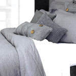 Morgan Linen Grey by Alamode Home