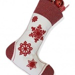 Noel Christmas Stocking by Alamode Home