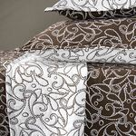 Truffle Paisley Bedding by Revelle