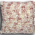 Pink Pebbles Cushion by Alamode Home