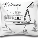 Victoria Postcard Cushions by Alamode Home