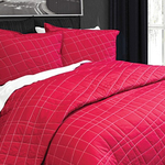 Quinn Red Quilt by Alamode Home