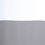 Rail Stripe Grey Shower Curtain