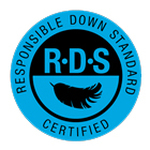 The Responsible Down Standard ensures that duck and feathers come from ducks and geese that have been treated well.