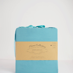 Aqua Bamboo Sheets by Leave Nothing But Footprints
