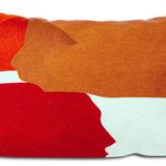 Red Sidley Cushion by Alamode Home