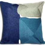 Blue Sidley Cushion by Alamode Home