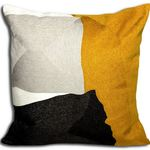 Yellow Cushion by Alamode Home