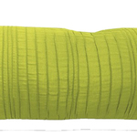"Avocado Spun Silk 10"" X 25"" Cushions by Alamode Home"