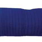 "Ink Blue Spun Silk 10"" X 25"" Cushions by Alamode Home"