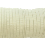 "Ivory Spun Silk 10"" X 25"" Cushions by Alamode Home"
