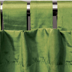 Avocado Spun Silk Curtains by Alamode Home