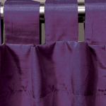 Violet Spun Silk Curtains by Alamode Home