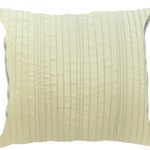 Ivory Spun Silk Cushions by Alamode Home
