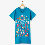 Coffee a Latte Sleep Shirts by Hatley
