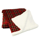 Tartan Sherpini Throws